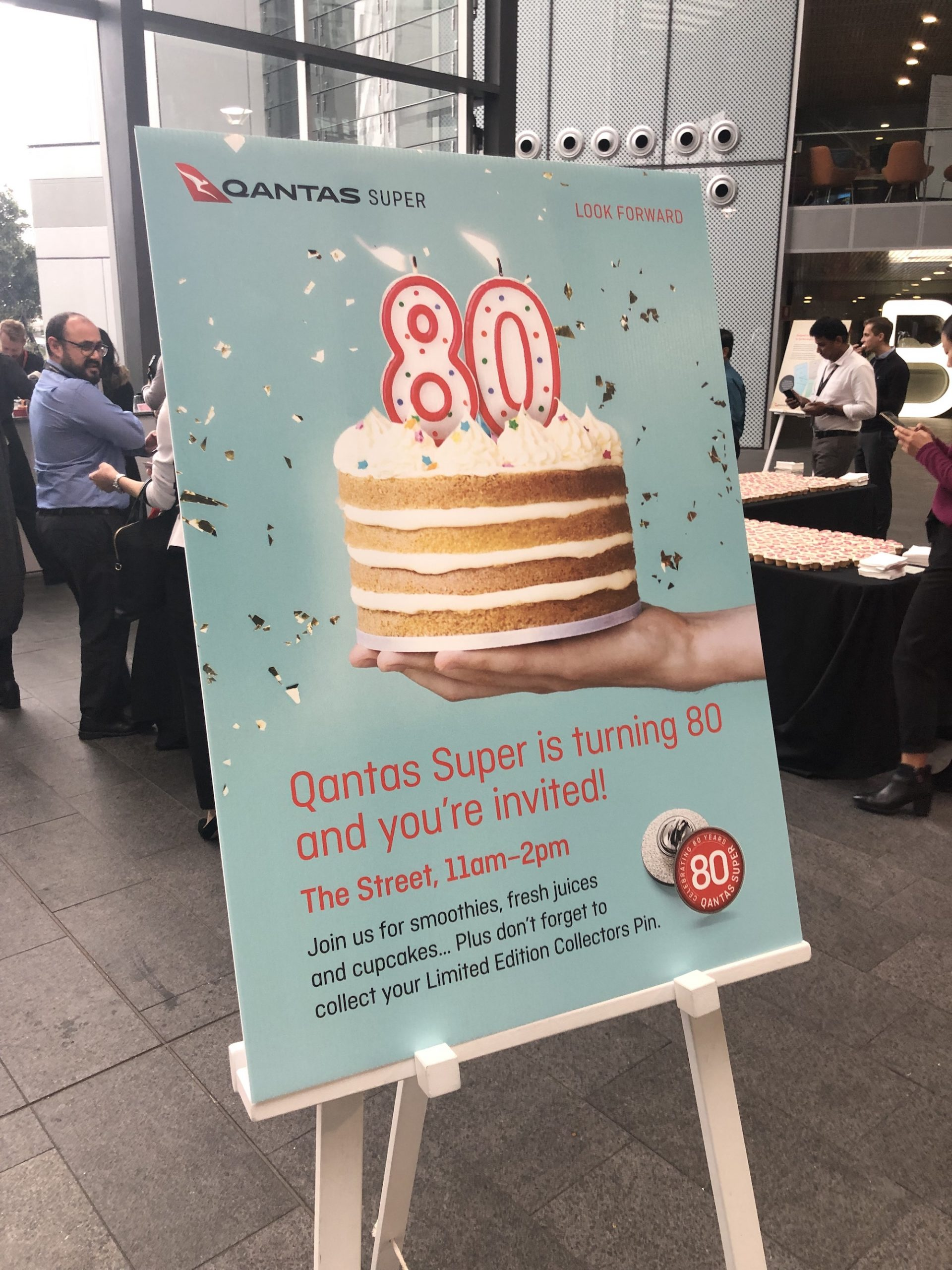 Qantas Super 80th Anniversary